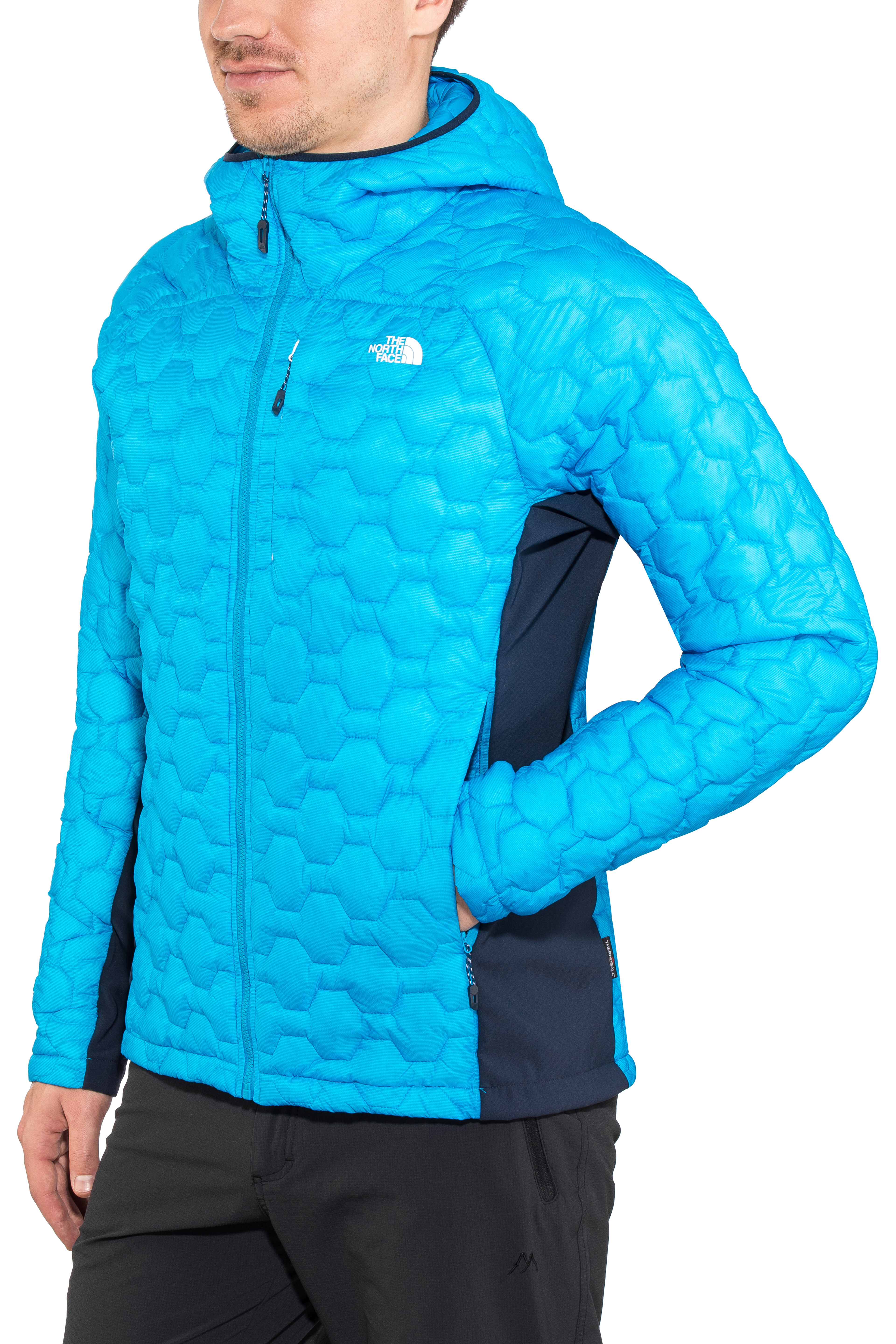 d2a5728a9 The North Face Impendor Thermoball Hybrid Hoodie Jacket Men hyper  blue/urban navy